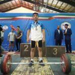 وزنه بردار تیم نفت و گاز مسجدسلیمان مدال نقره مسابقات کشوری را کسب کرد .