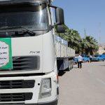 تحویل کمکهای اهدایی منطقه ویژه پارس به سیلزدگان خوزستان