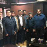 ملاقات اعضا مطالبه گران میدان میوه و تره بار با مدیرعامل سازمان میادین شهرداری اهواز